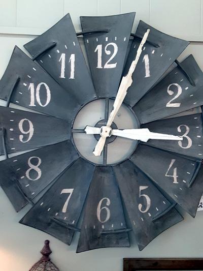 howard miller farmhouse clock ohio stores